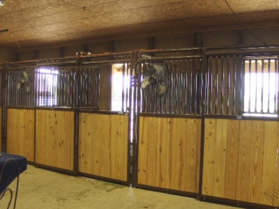 Option to purchase barn, pens, arena, 6 acres