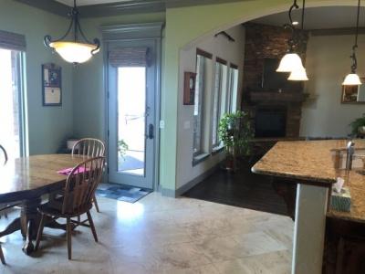 Hall Master bedroom side to Living/kitchen/breakfast
