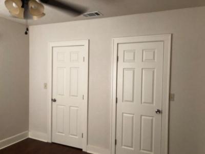 Wall of Closets Bedroom
