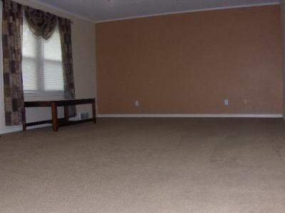Living area in neutral colors