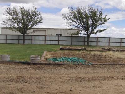 Back of acreage- beyond backyard fence